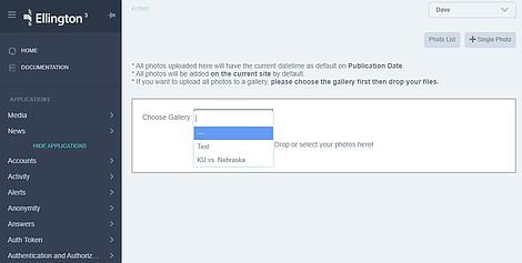 Bulk Gallery Upload
